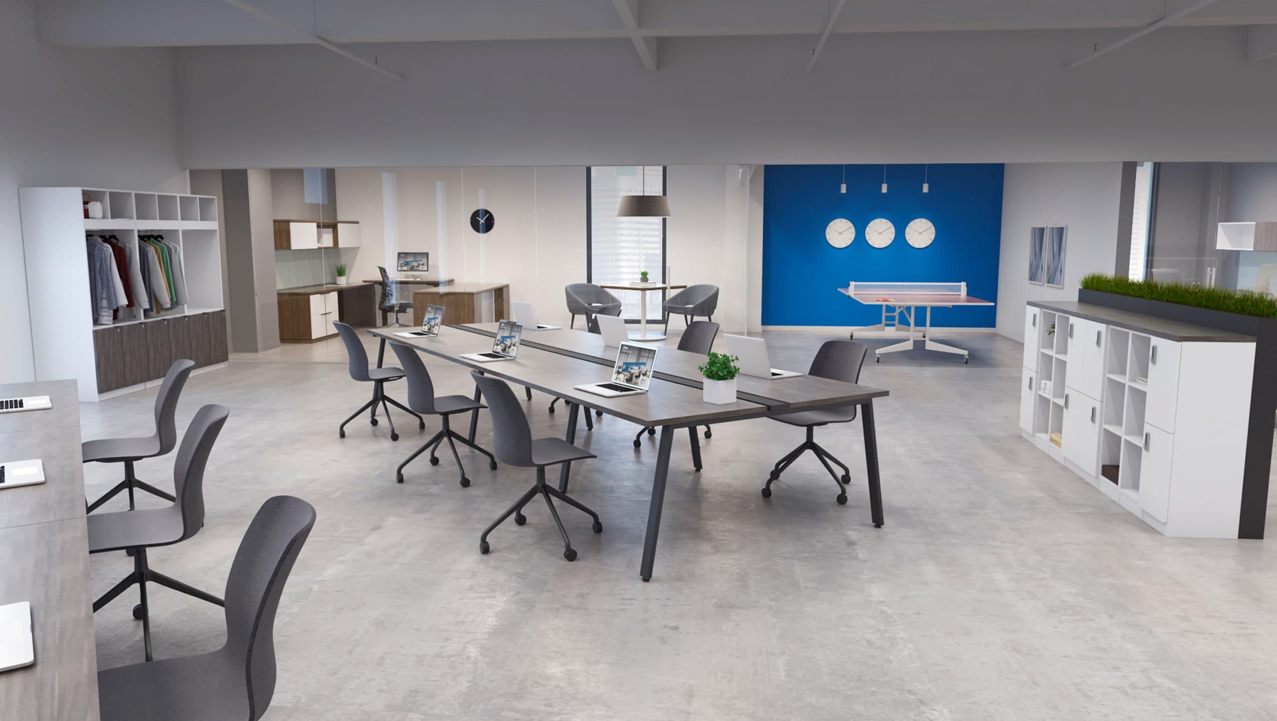 DeskMakers Floorplan